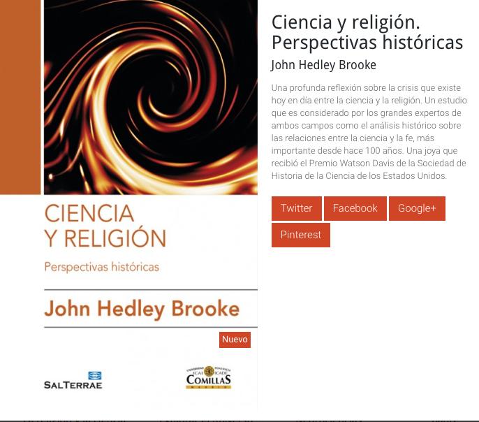 Nuevo libro: John H. Brooke
