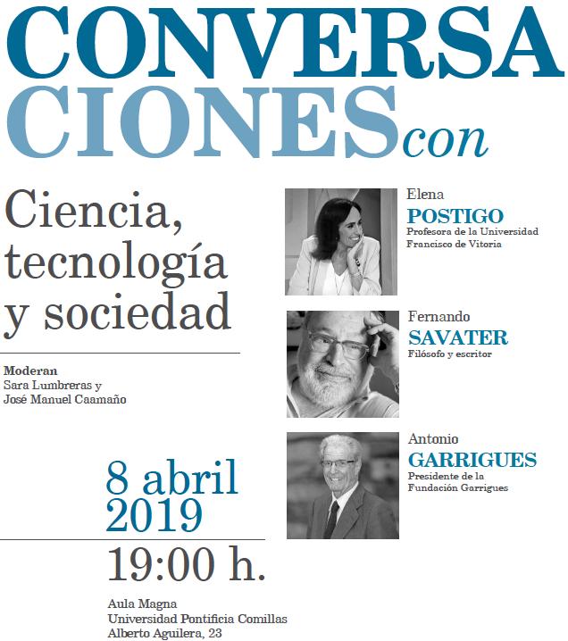 Conversaciones con Savater, Postigo y Garrigues