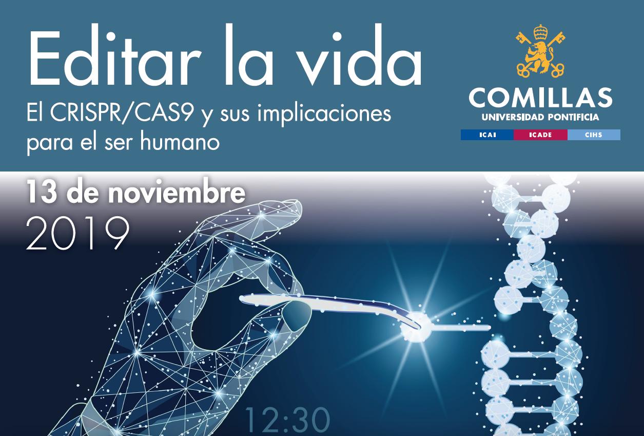 Editar la vida: CRISPR/Cas9 y sus implicaciones