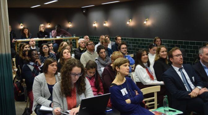 Las semanas antes de Navidad estuvieron llenas de actividad en la oficina del JRS en Bruselas