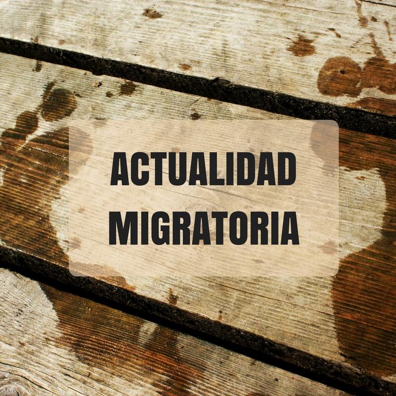 Conoce las principales noticias sobre migración
