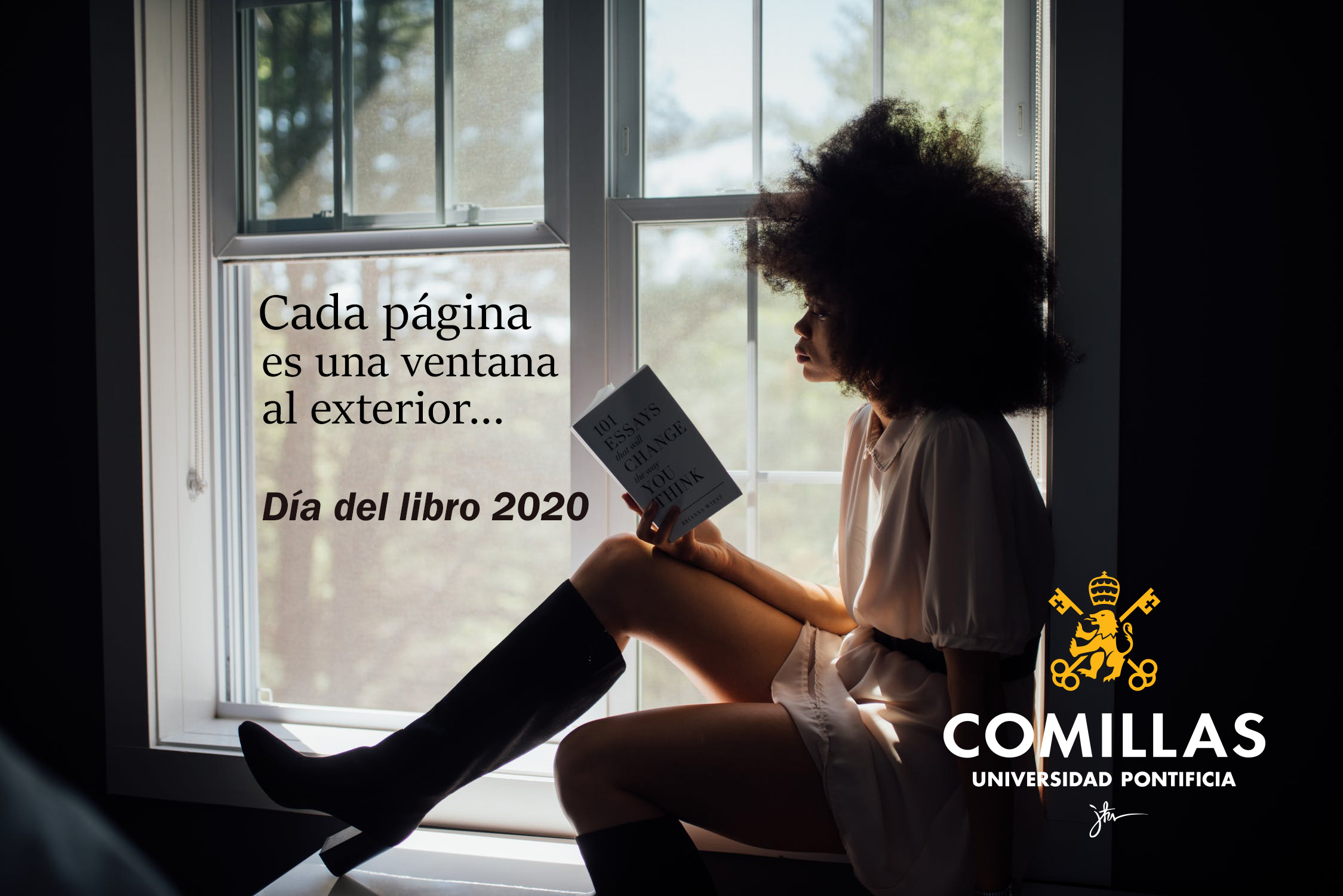 Día del Libro 2020 en Comillas