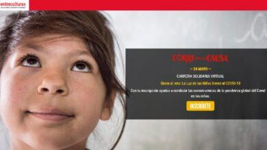 """Photo of Carrera solidaria virtual 24 de mayo de 2020. """"Únete al reto: La Luz de las Niñas frente al COVID-19""""."""