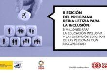 Photo of II EDICIÓN PROGRAMA REINA LETIZIA PARA LA INCLUSIÓN CURSO 21/22
