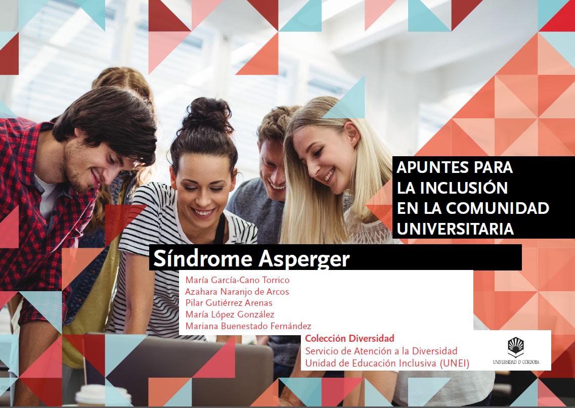 imagen de la portada de apuntes para la inclusión: sindrome asperger