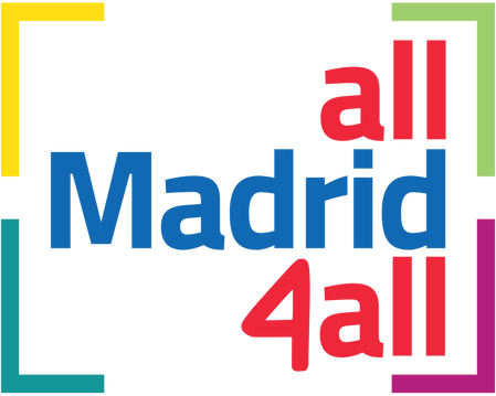 Logo all Madrid 4all sobre turismo inclusivo y accesible