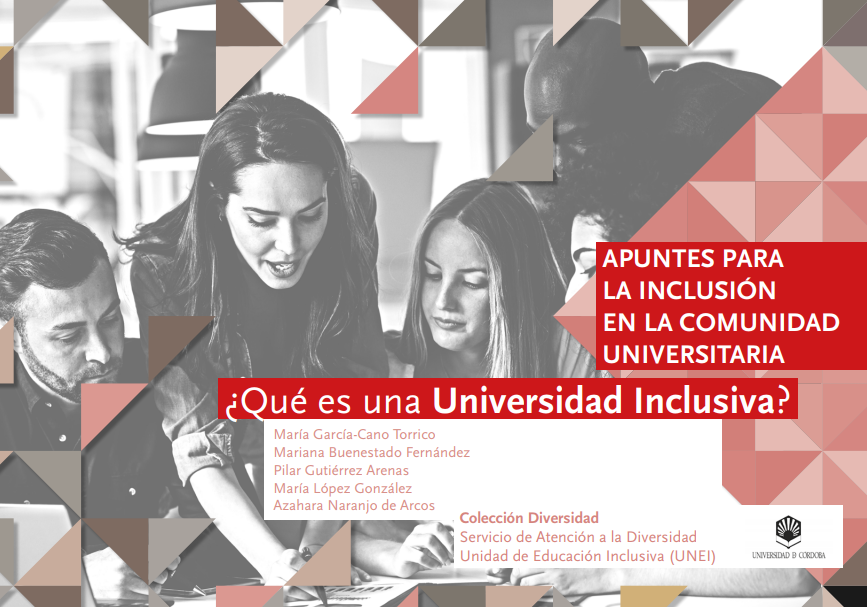 """portada de """"que es una universidad inclusiva"""""""