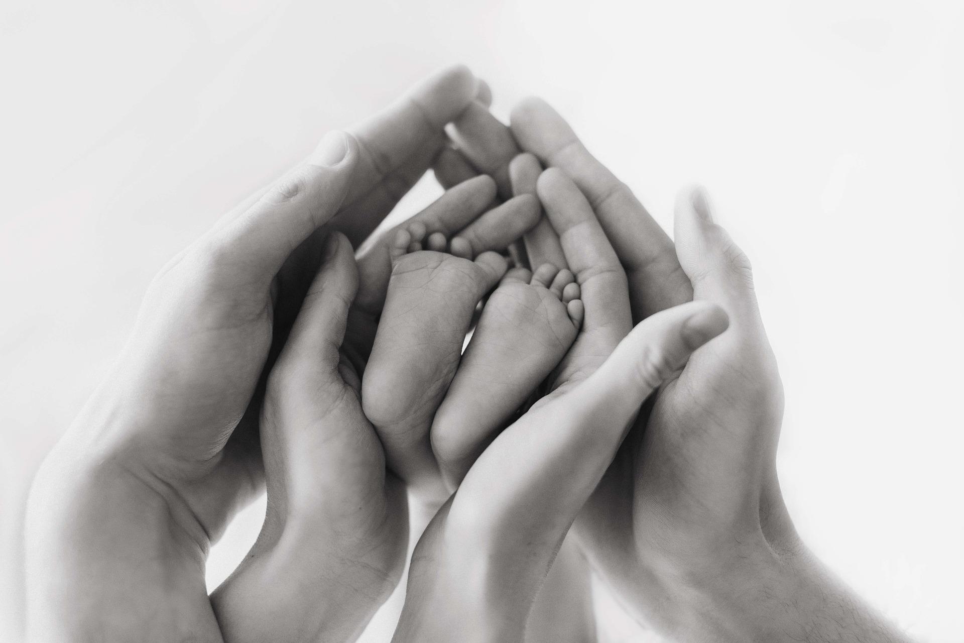 Imagen manos y pies