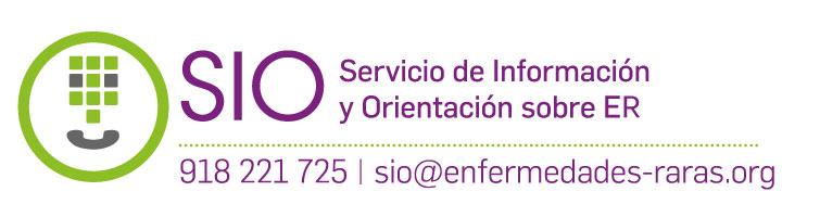 Logo SIO Servicio de Información y Orientación sobre ER teléfono de contacto y email