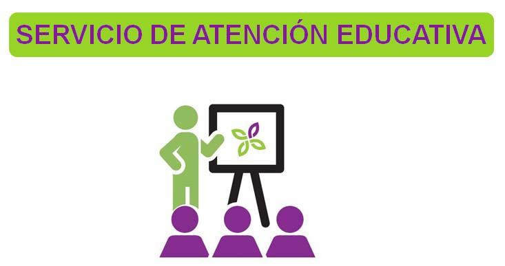 Logo Servicio de Atención Educativa de FEDER