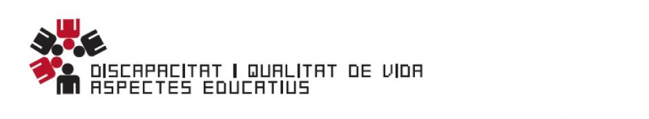 logo del equipo de investigadores de DISCAPACIDAD I QUALITAT DE ASPECTES EDUCATIUS