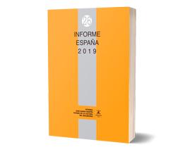 Copia en papel del Informe España 2019 - Comillas